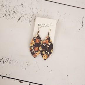 Floral Diamond Earrings