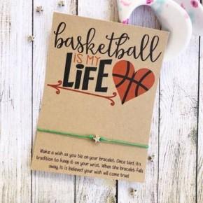Basketball is My Life Wish Bracelet