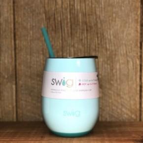 Swig Seaglass 14 oz Stemless Wine Glass