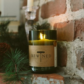 Rewined Wine Under The Tree Candle