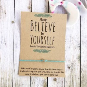 Believe In Yourself Wish Bracelet