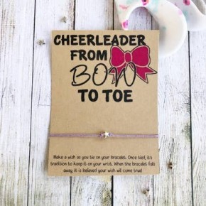 Cheer Bow To Toe Wishlet