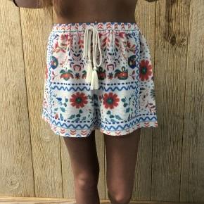 Folk Print Shorts