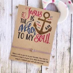 Anchor To My Soul Wish Bracelet