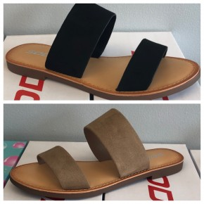 The Allie -Double strap sandal