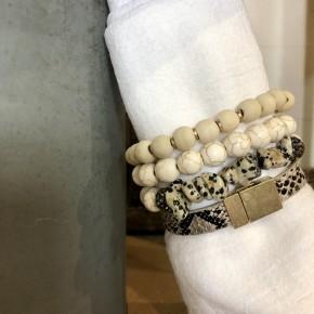 Snakeskin Stacked Bracelet