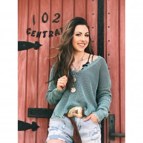 Brielle Distressed Sweater