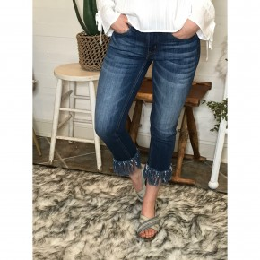 Torn Apart Cropped Jeans