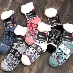 DOORBUSTER Sherpa Slipper Socks