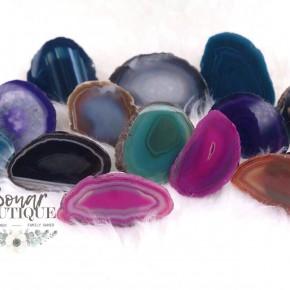 Brazillian Agate Phone Stones