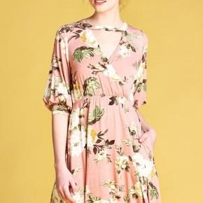 Rosy Glow Dress