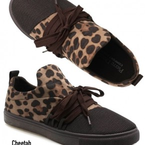Leopard Tennies
