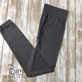 Charcoal gray tights