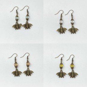 Melania Clara  Bee Earrings