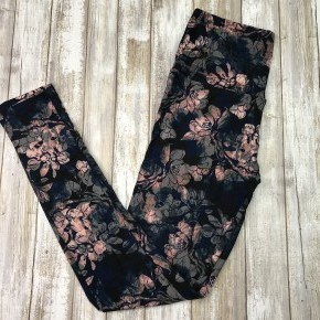 Floral Watercolor Leggings