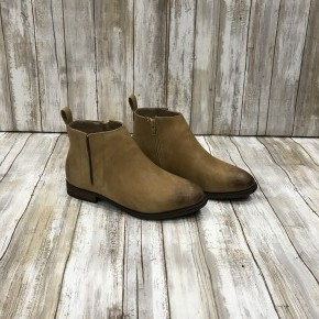 Beige Ankle Bootie
