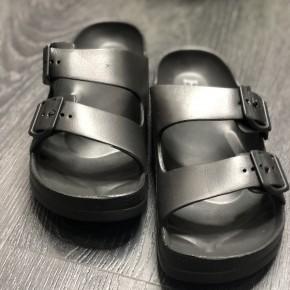 Black Comfort Slides