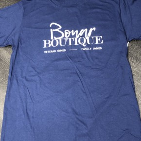 Navy Blue Bonar Boutique Graphic Tee