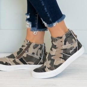 Blowfish Malibu high top camouflage sneakers