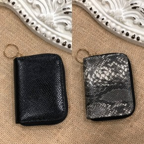 Black or Grey Coin Purse