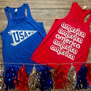 4th of July Tanks pre order