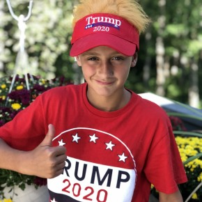 TRUMP Hair Don't care hat. Velcro back