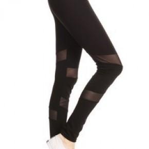 Stylish Side Mesh Leggings