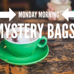 Monday Morning Mystery Bags!