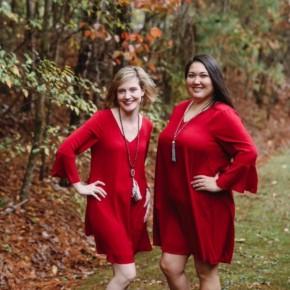 Merry and Bright Crimson Dress