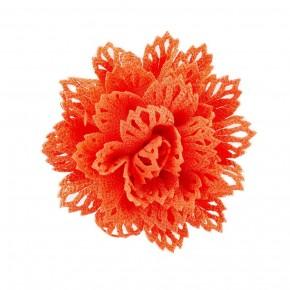 Floral Flair - Orange