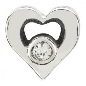 Chamilia Jeweled Heart Charm