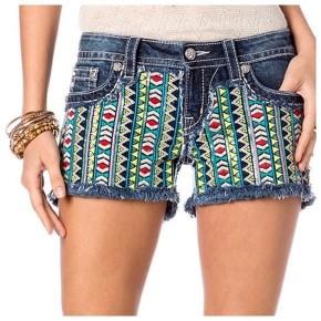 Miss Me Blue Jean Cut off Shorts Sun Dazed