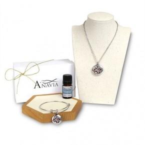 Anavia  Blossom Aroma Necklace and Bracelet Gift Set