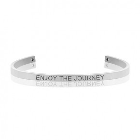ENJOY THE JOURNEY MANTRA BANGLE