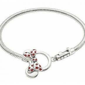 Minnie Mouse Toggle Bracelet