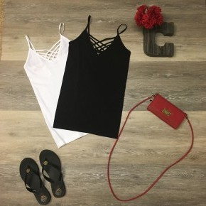 Cross-Neck Cami
