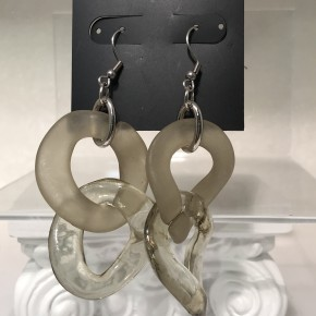 Costume Double Hoop Earrings