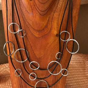 Circle Cord Necklace