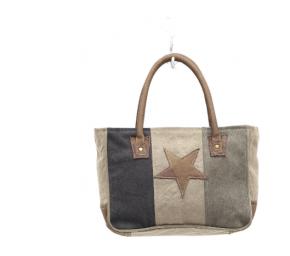Myra Star On Canvas Small Bag