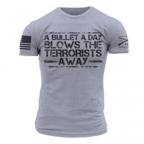"""Grunt Style """"A Bullet A Day"""" Shirt"""