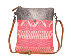 Myra Pink Petals Crossbody Bag