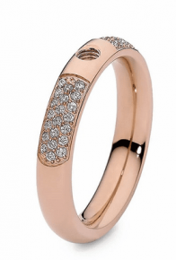 Qudo Interchangeable Rose Gold Deluxe Ring