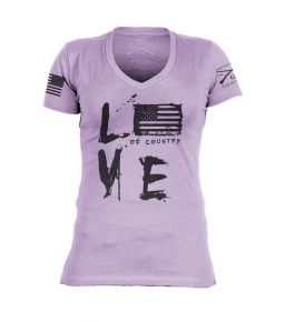 """Grunt Style """"Love Of Country"""" Graphic WOMEN'S T"""