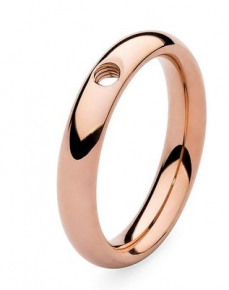 Qudo Interchangeable Rose Gold Basic Small Ring