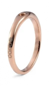 Qudo Interchangeable Rose Gold Basic Fine Ring