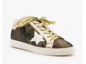 Dale Sparkly Camouflage Sneaker
