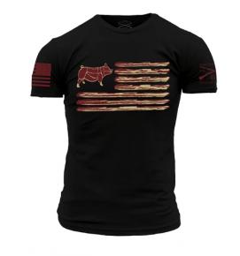 """Grunt Style """"Bacon Flag"""" Shirt"""