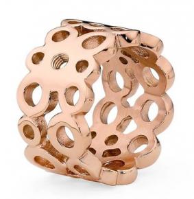 Qudo Interchangeable Rose Gold Ancona Ring