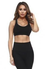 Yelete Sports Bra With Cut Out Detail On Back
