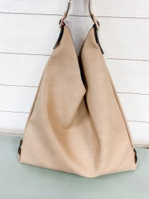 Solid Short-strap Tote